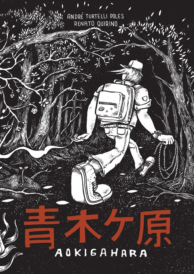 Entrevista: André Turtelli e Renato Quirino, autores de Aokigahara