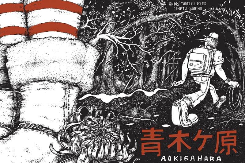 Entrevista: André Turtelli e Renato Quirino, autores da HQ Aokigahara