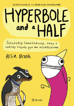 Capa do livro Hyperbole and a Half