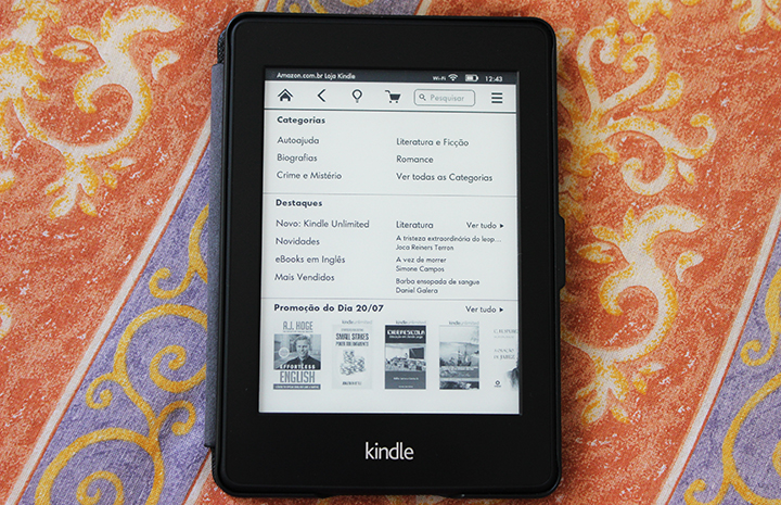 kindle loja virtual amazon