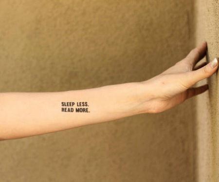 Tatuagens inspiradas em livros