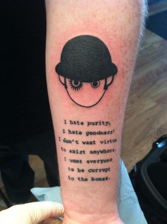 Tatuagens Inspiradas Em Livros Resenhas à La Carte