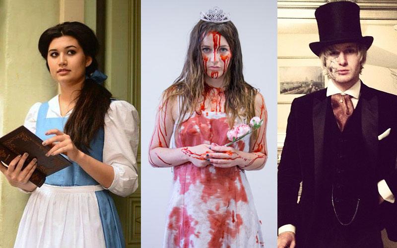 fantasias de Halloween baseadas em personagens de livros