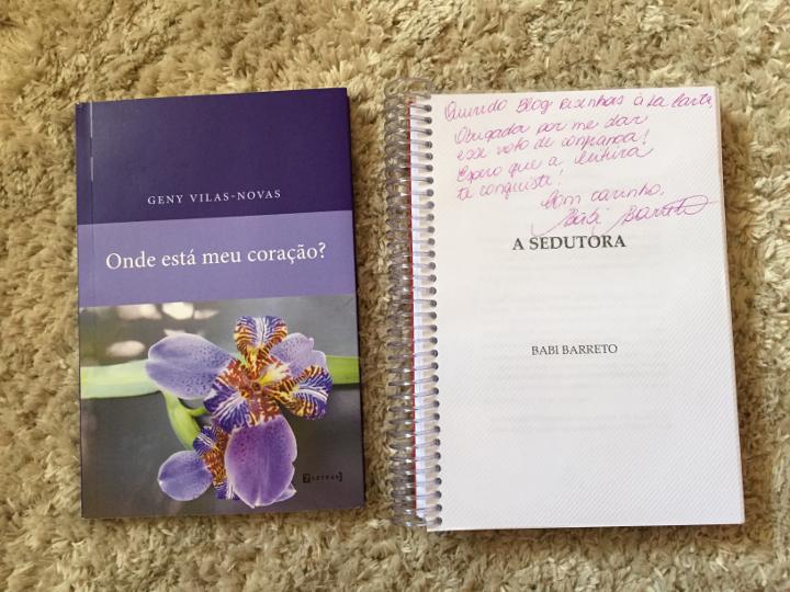 Livros recebidos em Janeiro - 2016