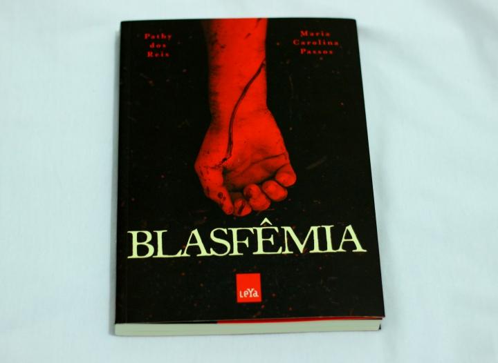 capa livro blasfêmia