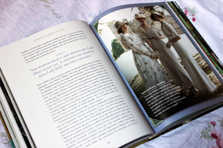 livro mundo downton abbey foto