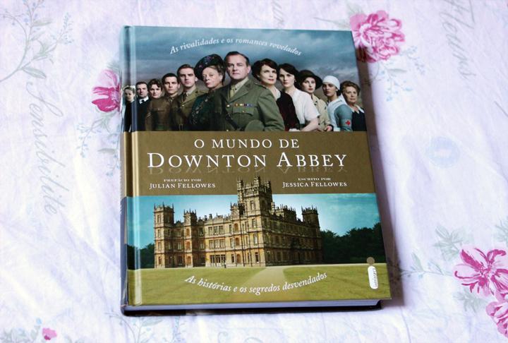 capa livro mundo downton abbey