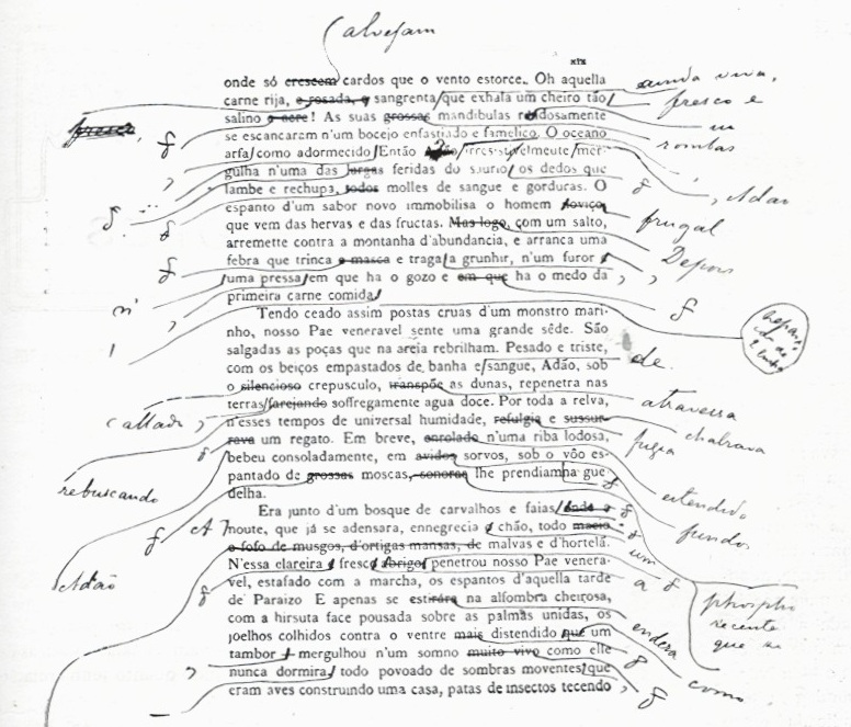 manuscrito eça de queirós