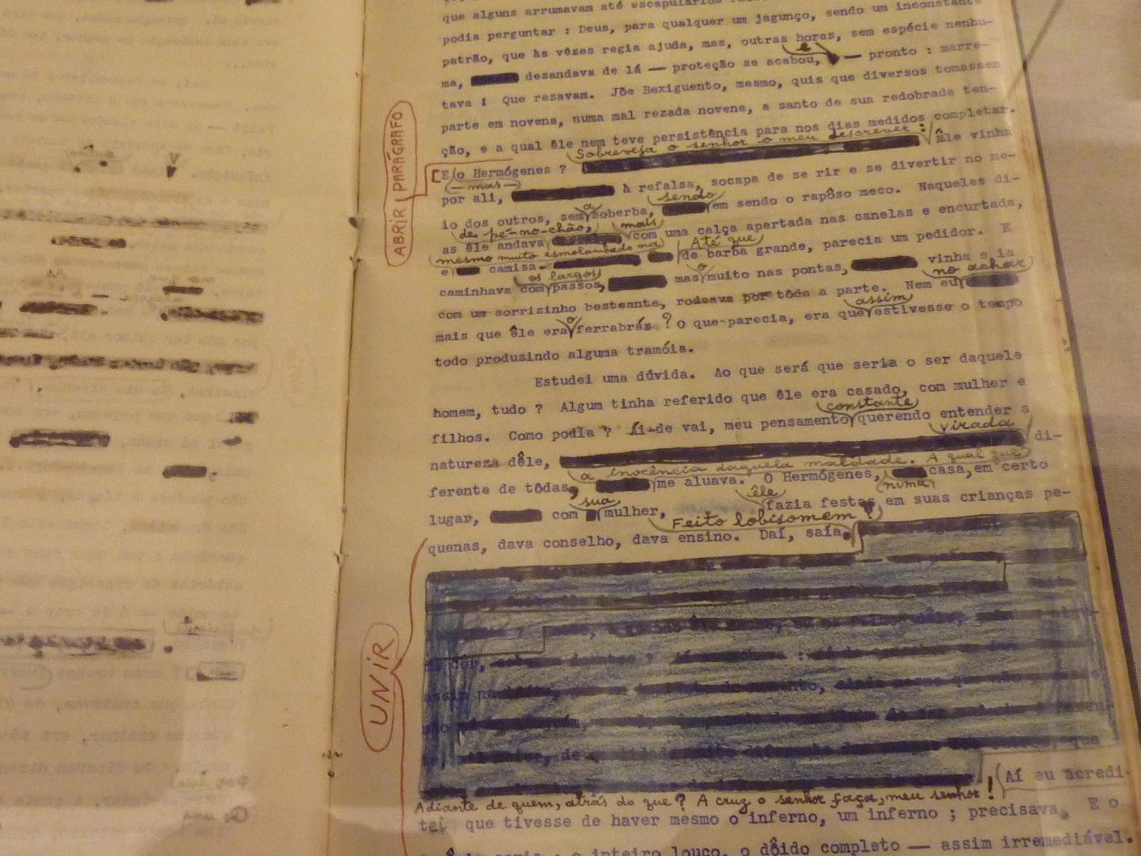 manuscrito guimarães rosa