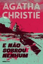 Capa do livro E não sobrou nenhum - Agatha Christie