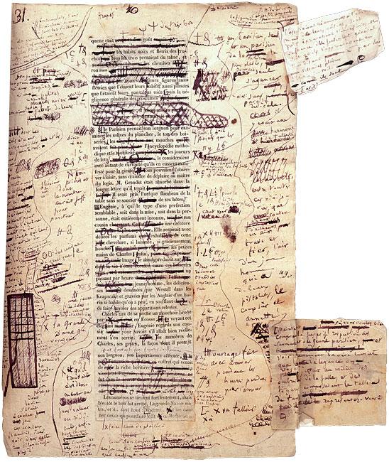 manuscrito balzac