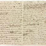 Manuscritos e revisões originais de autores famosos