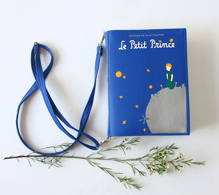 Bolsas em formato de livro que são apaixonantes!