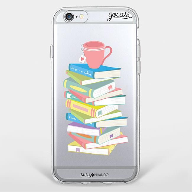 capinhas de celular para amantes de livros