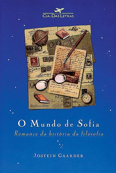 O Mundo de Sofia capa livro