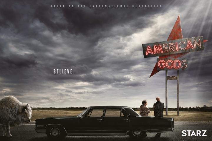 """Confira o trailer legendado da série """"Deuses Americanos"""", inspirada na obra de Neil Gaiman"""