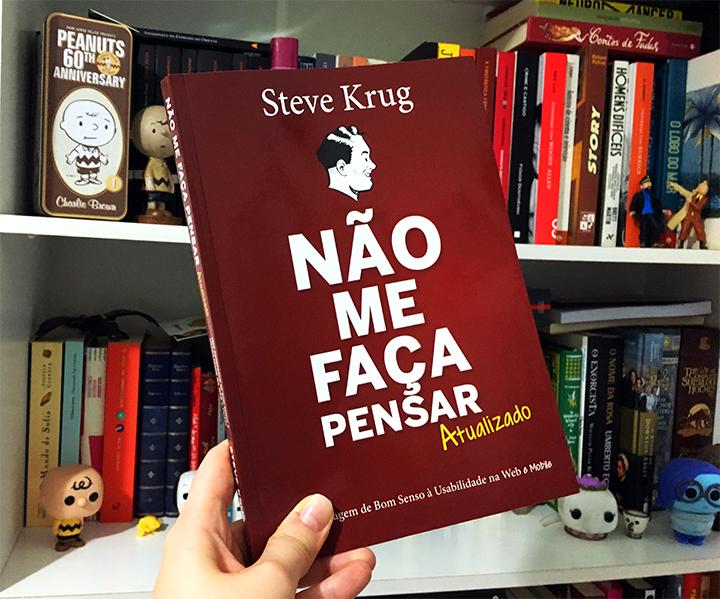 Resenha: Não Me Faça Pensar - Steve Krug