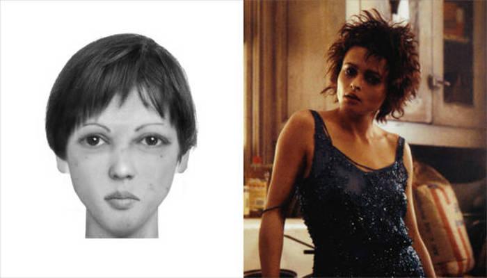 Compare o retrato falado de personagens literários com intérpretes do cinema
