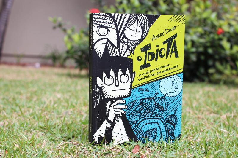"""Entrevista: André Diniz, autor de """"O Idiota"""", adaptação do clássico de Dostoiévski para os quadrinhos"""