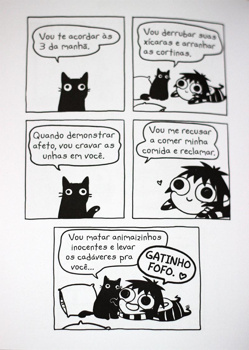 Resenha: A Louca dos Gatos - Sarah Andersen