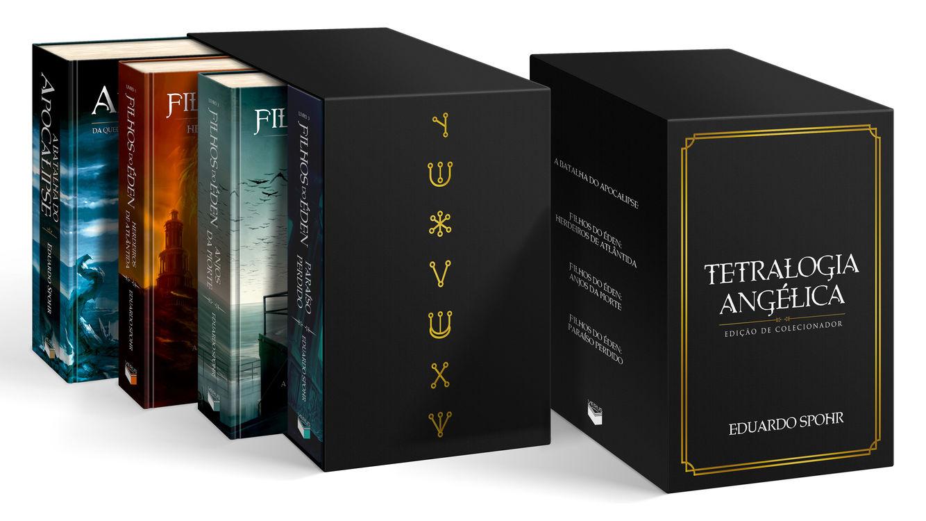 Spohr lança crowdfunding para edição de colecionador da Tetralogia Angélica
