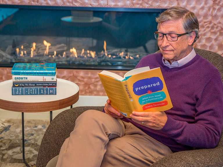 8 livros indicados por Bill Gates que não são de negócios