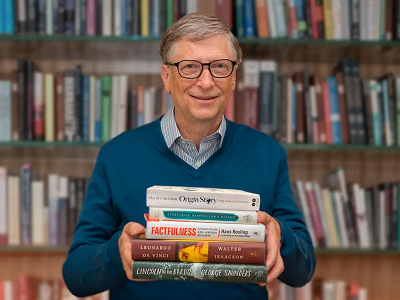 Livros lidos e indicados por Bill Gates que não são de negócios